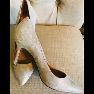 Enzo Angiolini Leather Stilettos